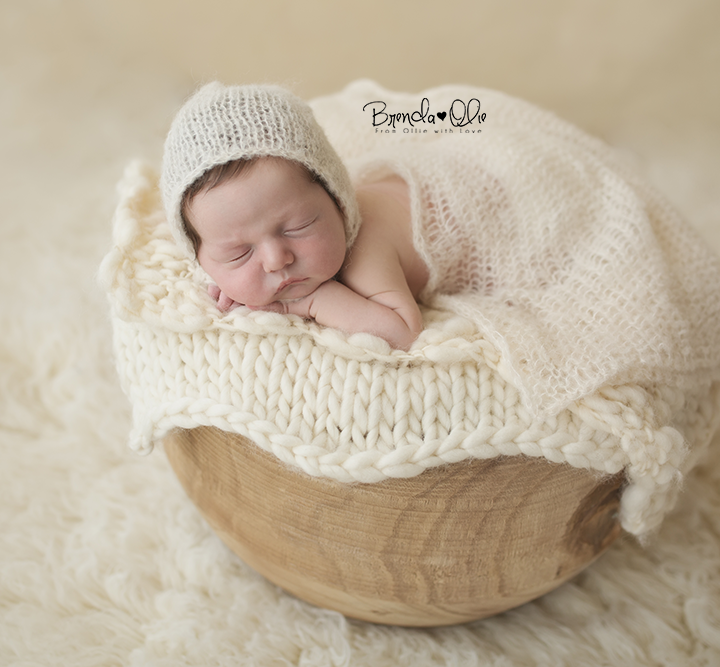 Newborn fotografie shoot