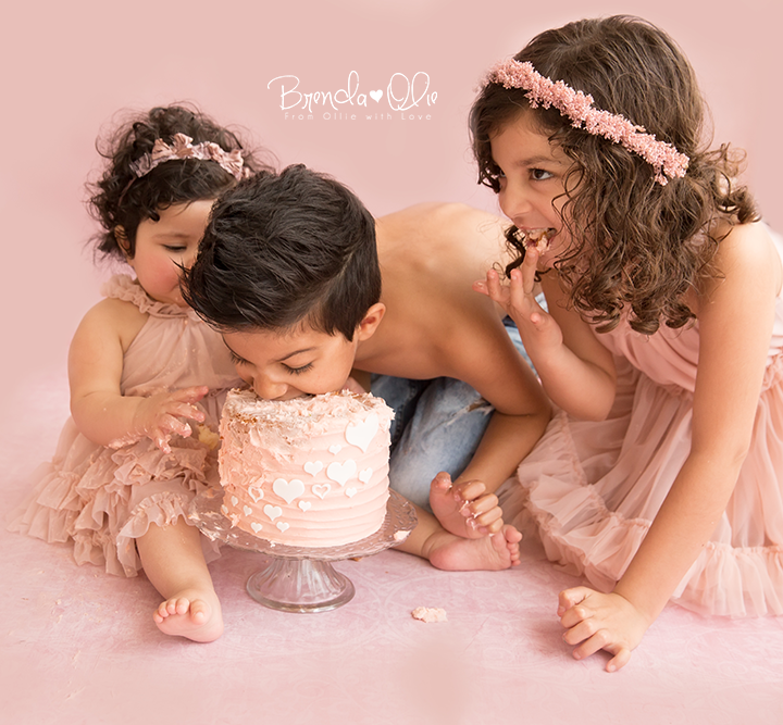 Cake Smash shoot in Krimpen aan den IJssel