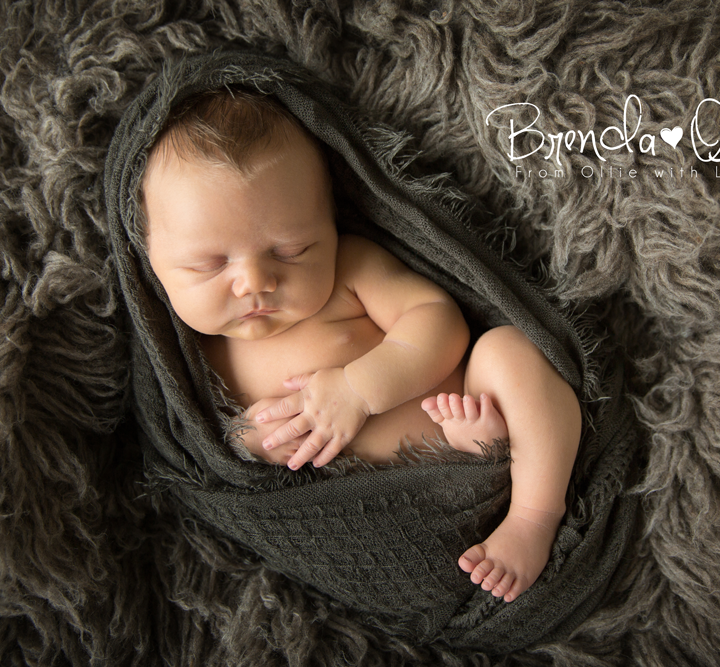 Newborn fotografie shoot in Zwijndrecht