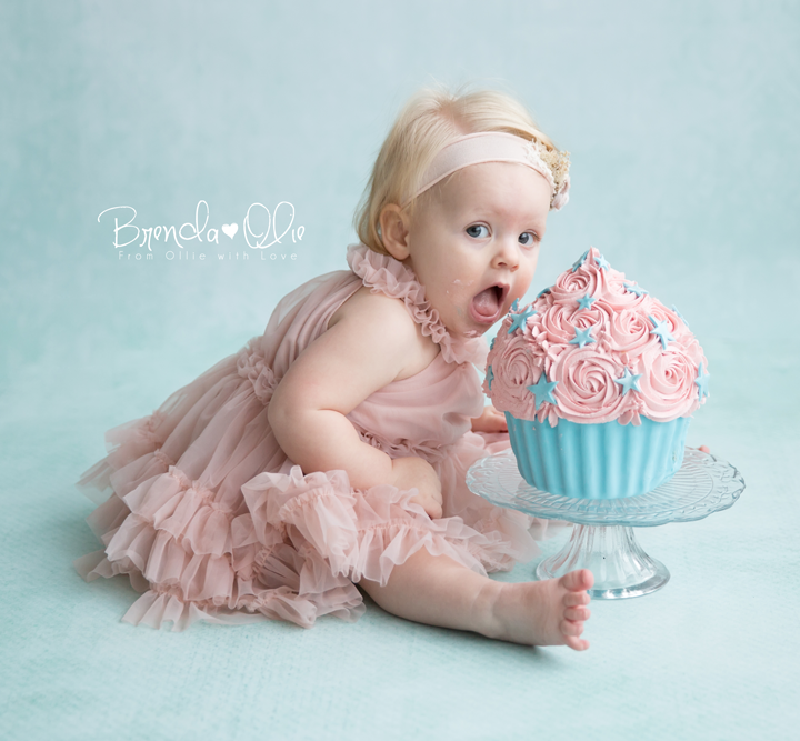 Smash cake shoot